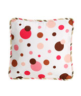 Baby Girl decorative pillow (brown)