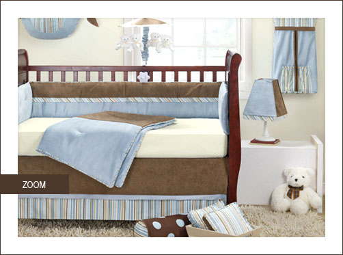 Baby Boy 4-Piece Infant Bedding Set