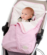 Cross Country Collection - Cozy Wheeler Stroller Blanket for Girls