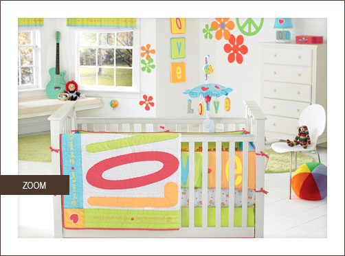 Bright Crib Bedding Ideas Babygaga