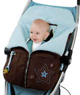 Roadster Collection - Cozy Wheeler Stroller Blanket for Boys