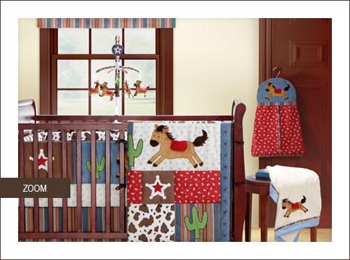Rodeo Round Up Baby Bedding Set